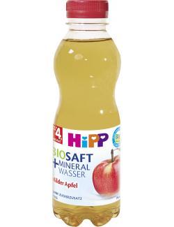 Hipp Bio Saft & Mineralwasser milder Apfel still