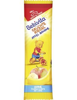 Bebivita Früchte Riegel Apfel-Banane