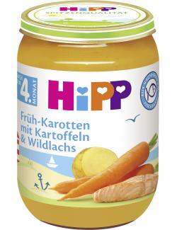 Hipp Früh-Karotten mit Kartoffeln und Wildlachs