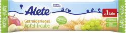 Alete Getreideriegel Apfel-Traube (25 g) - 4251099603825