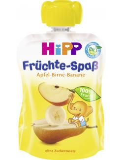 Hipp Früchte-Spaß Apfel-Birne-Banane (90 g) - 4062300165106