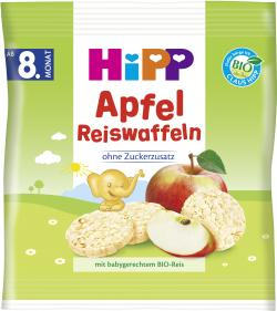 Hipp Apfel Reiswaffeln (30 g) - 4062300000452