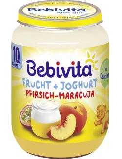 Bebivita Frucht & Joghurt Pfirsich-Maracuja