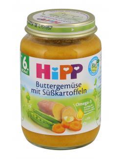 Hipp Bio Buttergemüse mit Süßkartoffeln (190 g) - 4062300166820