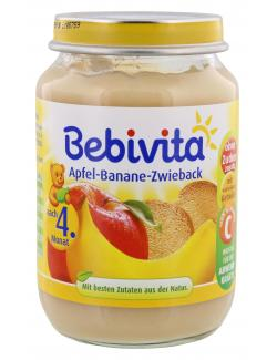 Bebivita Apfel-Banane-Zwieback (190 g) - 4018852102410