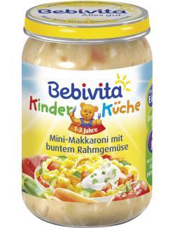 Bebivita Mini-Makkaroni mit buntem Rahmgemüse (250 g) - 4018852014959