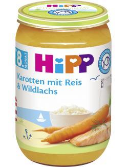 Hipp Karotten mit Reis & Wildlachs
