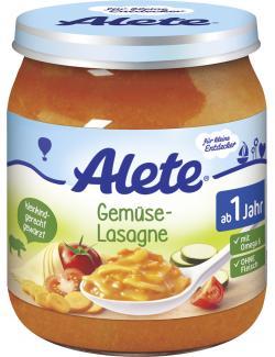 Alete Gemüse-Lasagne