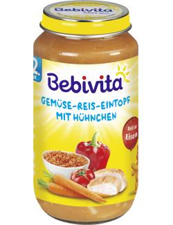Bebivita Gemüse-Reis-Eintopf mit Hühnchen