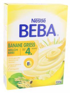 Nestlé Beba Milchbrei Banane Grieß (250 g) - 7613034284631