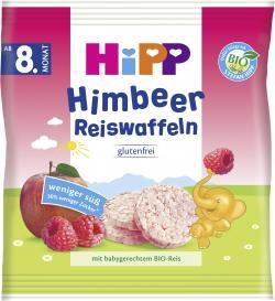 Hipp Himbeer Reiswaffeln