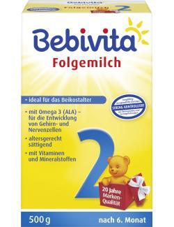 Bebivita 2 Folgemilch nach 6. Monat