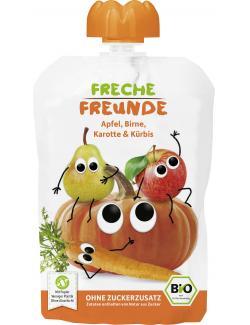 Freche Freunde Fruchtmus Apfel, Birne, Karotte & Kürbis