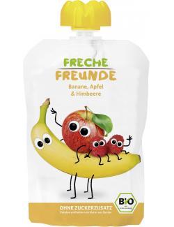 Erdbär Freche Freunde Fruchtmus Apfel-Banane-Himbeere