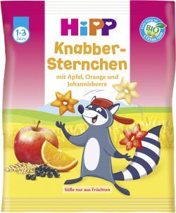 Hipp Knabber-Sternchen mit Früchten