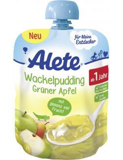 Alete Wackelpudding Grüner Apfel (90 g) - 4251099607038