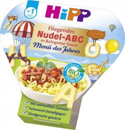 Hipp Fliegendes Nudel-ABC mit Bolognese Sauce