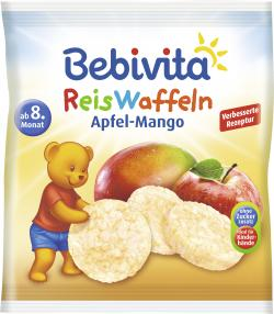 Bebivita Reiswaffeln Apfel-Mango (35 g) - 4018852018094