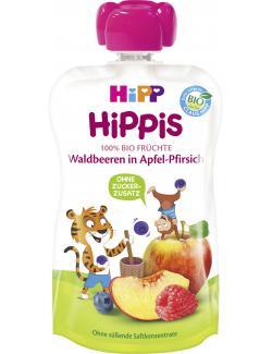 Hipp Hippis Waldbeeren in Apfel-Pirsich