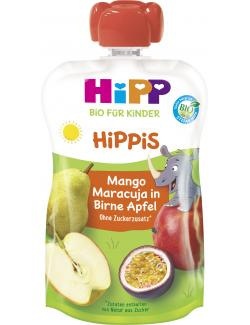 Hipp Hippis Mango-Maracuja in Birne-Apfel