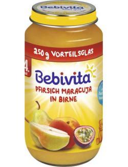 Bebivita Früchte Pfirsich-Maracuja in Birne