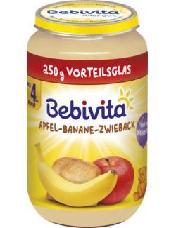 Bebivita Frucht & Getreide Apfel-Banane-Zwieback