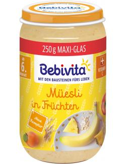 Bebivita Müsli in Früchten