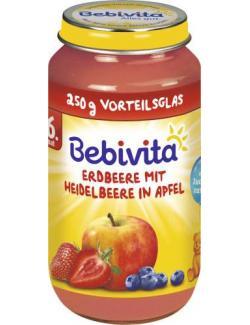 Bebivita Früchte Erdbeere mit Heidelbeere in Apfel