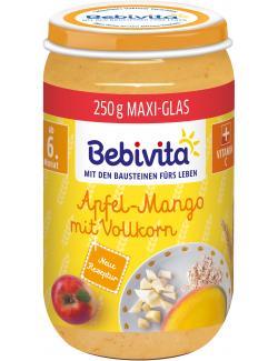 Bebivita Apfelstückchen mit Banane und Vollkorn