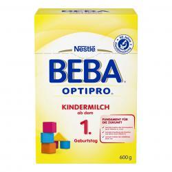 Nestlé BEBA OPTIPRO Kindermilch ab dem 1. Geburtstag, Pulver, in der wiederverschließbaren
