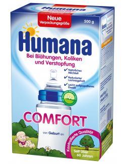 Humana Comfort von Geburt an