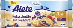Alete Keksschnitte mit Blaubeere MHD 20.09.18