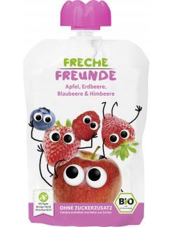 Freche Freunde Quetschie Apfel-Erdbeere-Blaubeere-Himbeere