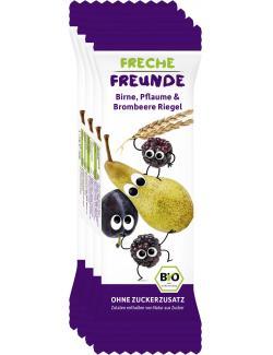Erdbär Freche Freunde Fruchtriegel Birne-Pflaume-Brombeere