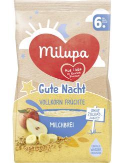 Milupa Gute Nacht Milchbrei Vollkorn Früchte
