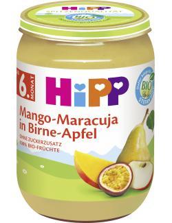 Hipp Mango-Maracuja in Birne-Apfel