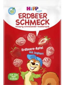 Hipp Erdbeerschmeck Knabberspaß Erdbeer-Apfel mit Joghurt