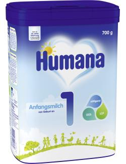 Humana 1 Anfangsmilch