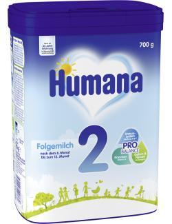 Humana 2 Folgemilch