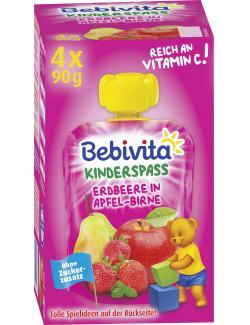 Bebivita Kinderspass Erdbeere in Apfel-Birne