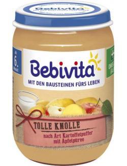Bebivita Tolle Knolle nach Art Kartoffelpuffer mit Apfelpüree