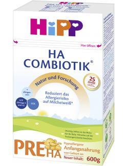 Hipp Combiotik Pre HA Anfangsnahrung von Geburt an
