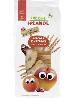 Freche Freunde Frecher Zwieback Dinkel & Frucht