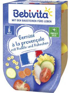 Bebivita Gemüse à la provencale mit Nudeln und Hühnchen