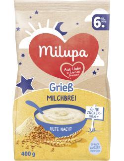 Milupa Gute Nacht Milchbrei Grieß