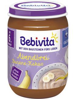 Bebivita Abendbrei Banane-Kakao