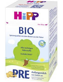 HiPP Bio Anfangsmilch Pre von Geburt an