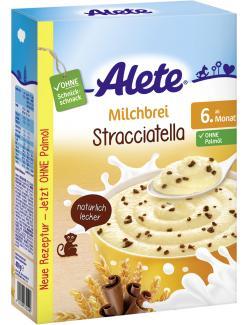 Bild für Alete Milchbrei Stracciatella