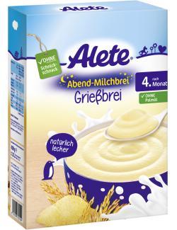 Alete Abend-Milchbrei Grießbrei