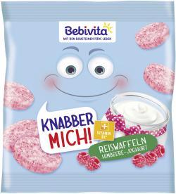 Bebivita Knabber Mich! Reiswaffel Himbeere-Joghurt